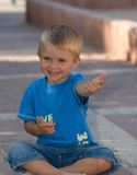 χαμογελώντας νεολαίες Στοκ φωτογραφίες με δικαίωμα ελεύθερης χρήσης