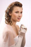 Χαμογελώντας νύφη Στοκ Φωτογραφία