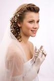 Χαμογελώντας νύφη Στοκ φωτογραφία με δικαίωμα ελεύθερης χρήσης
