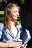 χαμογελώντας σπουδαστ Στοκ Εικόνες