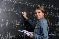 Χαμογελώντας έξυπνος σπουδαστής Στοκ Φωτογραφία