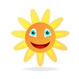 χαμογελώντας ήλιος Στοκ εικόνες με δικαίωμα ελεύθερης χρήσης
