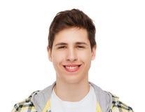 Χαμογελώντας αγόρι σπουδαστών Στοκ φωτογραφίες με δικαίωμα ελεύθερης χρήσης