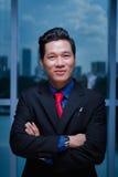 Χαμογελώντας βιετναμέζικος επιχειρηματίας Στοκ Εικόνα