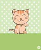 Χαμογελώντας γάτα Στοκ Φωτογραφίες