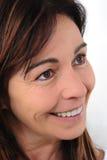 Χαμογελώντας γυναίκα πενηντάχρονων Στοκ Εικόνες