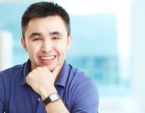 Χαμογελώντας επιχειρηματίας Στοκ εικόνες με δικαίωμα ελεύθερης χρήσης