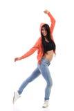 Χαμογελώντας θηλυκός χορευτής στοκ φωτογραφία με δικαίωμα ελεύθερης χρήσης