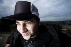 Χαμογελώντας κακός έφηβος Στοκ φωτογραφία με δικαίωμα ελεύθερης χρήσης
