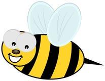 Χαμογελώντας μέλισσα και σχεδιάγραμμα Στοκ Φωτογραφίες