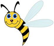 Χαμογελώντας μέλισσα και σχεδιάγραμμα Στοκ φωτογραφίες με δικαίωμα ελεύθερης χρήσης
