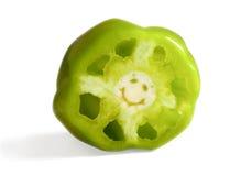 Χαμογελώντας πιπέρι Στοκ φωτογραφία με δικαίωμα ελεύθερης χρήσης
