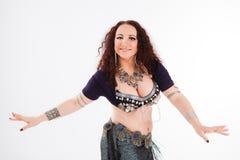 Χαμογελώντας φυλετικός χορευτής Στοκ Εικόνες