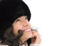 Χαμογελώντας χαριτωμένο κορίτσι Στοκ φωτογραφίες με δικαίωμα ελεύθερης χρήσης