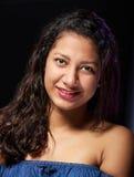 Χαμογελώντας chubby κορίτσι στοκ φωτογραφία με δικαίωμα ελεύθερης χρήσης