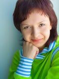 χαμόγελα κοριτσιών Στοκ εικόνες με δικαίωμα ελεύθερης χρήσης