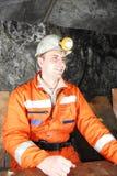 χαμόγελο ανθρακωρύχων Στοκ φωτογραφίες με δικαίωμα ελεύθερης χρήσης
