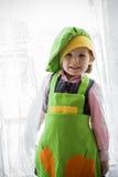 Χαμόγελο αρχιμαγείρων παιδιών Στοκ φωτογραφία με δικαίωμα ελεύθερης χρήσης