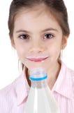 χαμόγελο γάλακτος κορ&iota Στοκ εικόνα με δικαίωμα ελεύθερης χρήσης