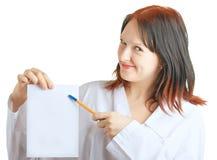 χαμόγελο γιατρών στοκ εικόνα με δικαίωμα ελεύθερης χρήσης