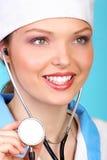 χαμόγελο γιατρών Στοκ φωτογραφία με δικαίωμα ελεύθερης χρήσης