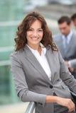 χαμόγελο επιχειρηματιών Στοκ εικόνα με δικαίωμα ελεύθερης χρήσης