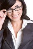 χαμόγελο επιχειρηματιών Στοκ φωτογραφία με δικαίωμα ελεύθερης χρήσης