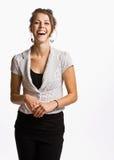 χαμόγελο επιχειρηματιών στοκ φωτογραφίες
