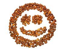 χαμόγελο καφέ Στοκ εικόνες με δικαίωμα ελεύθερης χρήσης