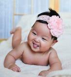 χαμόγελο κοριτσακιών Στοκ φωτογραφία με δικαίωμα ελεύθερης χρήσης