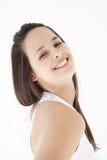 χαμόγελο κοριτσιών ικανότητας στοκ εικόνα με δικαίωμα ελεύθερης χρήσης