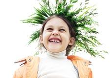 χαμόγελο κοριτσιών Στοκ Εικόνα