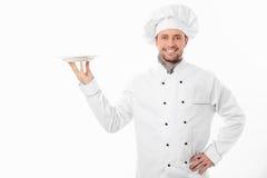 χαμόγελο μαγείρων Στοκ Εικόνα