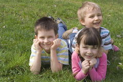 χαμόγελο παιδιών Στοκ Φωτογραφίες