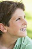χαμόγελο πορτρέτου αγο&rh στοκ φωτογραφία με δικαίωμα ελεύθερης χρήσης