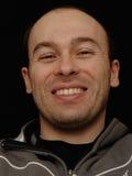 χαμόγελο πορτρέτου ατόμων Στοκ εικόνα με δικαίωμα ελεύθερης χρήσης