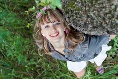 χαμόγελο πορτρέτου κοριτσιών εφηβικό Στοκ εικόνα με δικαίωμα ελεύθερης χρήσης