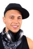 χαμόγελο του DJ Στοκ φωτογραφία με δικαίωμα ελεύθερης χρήσης