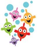 χαμόγελο ψαριών διανυσματική απεικόνιση