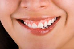 χαμόγελο 2 κοριτσιών στοκ εικόνες με δικαίωμα ελεύθερης χρήσης