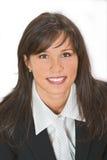 χαμόγελο brunette Στοκ εικόνα με δικαίωμα ελεύθερης χρήσης