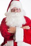 Χαμόγελο Άγιου Βασίλη Στοκ φωτογραφία με δικαίωμα ελεύθερης χρήσης