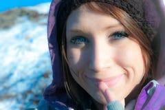 Χαμόγελο γυναικών στοκ εικόνα με δικαίωμα ελεύθερης χρήσης
