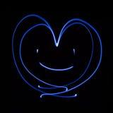 χαμόγελο καρδιών Στοκ εικόνα με δικαίωμα ελεύθερης χρήσης