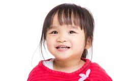 Χαμόγελο μικρών κοριτσιών της Ασίας Στοκ Εικόνα
