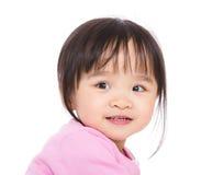 Χαμόγελο μικρών κοριτσιών της Ασίας Στοκ Φωτογραφία