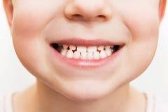 Χαμόγελο μωρών στενό Στοκ Εικόνες
