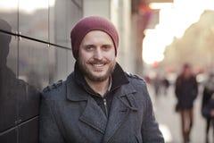 Χαμόγελο νεαρών άνδρων Στοκ εικόνα με δικαίωμα ελεύθερης χρήσης