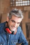 χαμόγελο ξυλουργών στοκ εικόνα με δικαίωμα ελεύθερης χρήσης