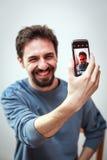 Χαμόγελο Selfie Στοκ Εικόνες